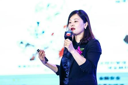 波士顿咨询全球合伙人兼董事总经理胡莹发表主题演讲