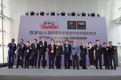 篮球天下杯首入中国,百岁山再度引爆体育营销