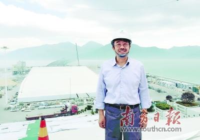 港珠澳大桥管理局总工程师苏权科。