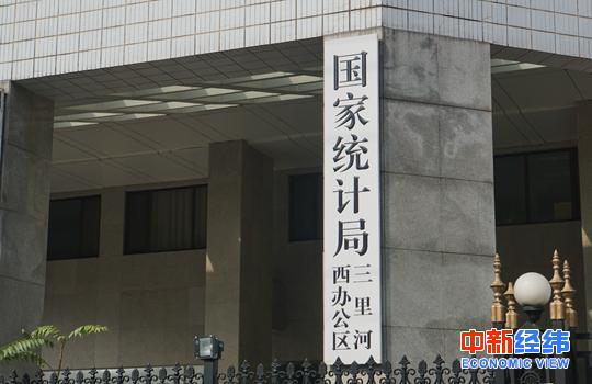 中国统计局_国家统计局.中新经纬 王潮 摄