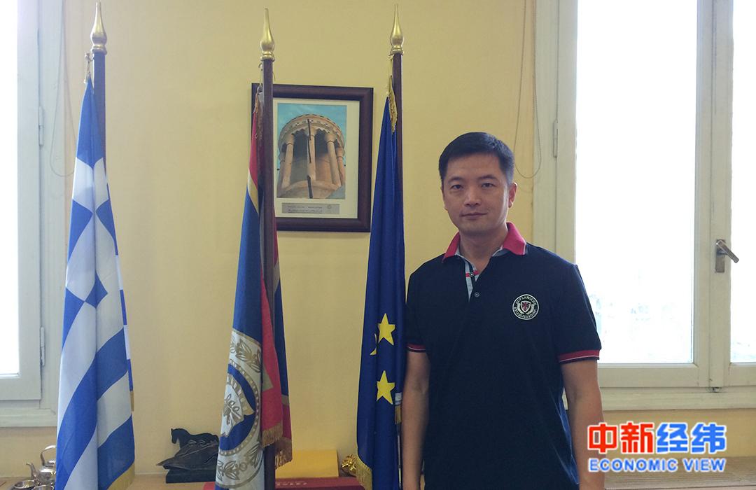 希腊华侨华人总商会会长 徐伟春