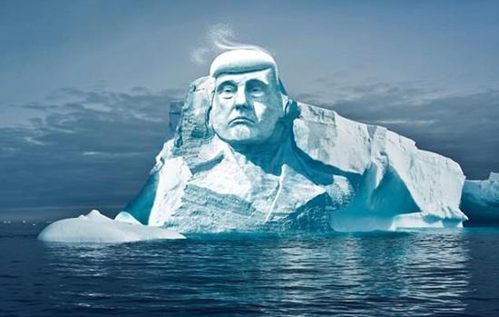 """极寒天气袭美 特朗普发推怒吼""""全球变暖在哪?"""""""
