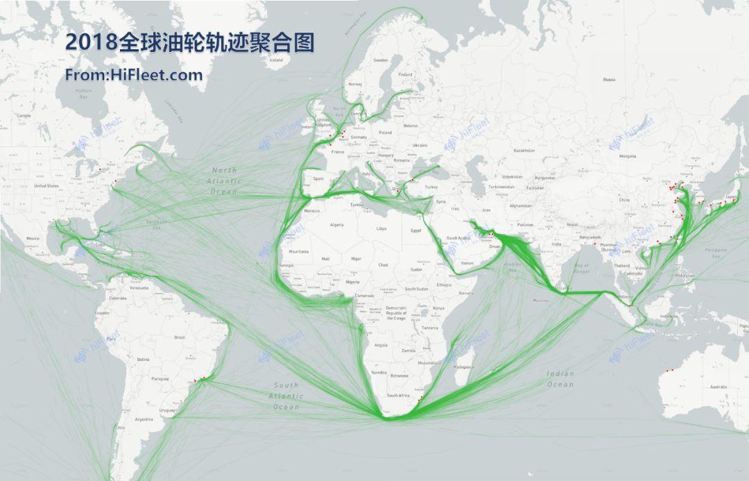 2018年度全球航运业大数据报告出炉,船舶数据、船舶航行轨迹、台风数据、铁矿石/原油/LNG海运数据等一网打尽