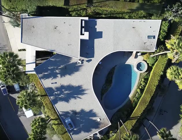 444万美元 把马斯克的洛杉矶豪宅买回家(多图)