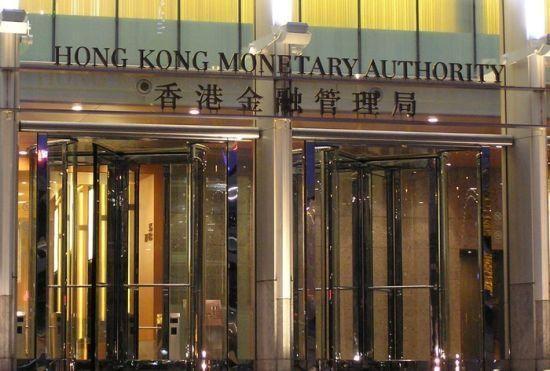 香港金管局入市买入15亿港元 为去年8月份以来首次