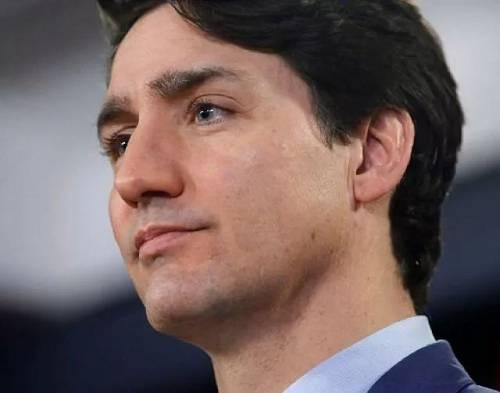 2019年3月7日,加拿大总理贾斯廷·特鲁多在首都渥太华召开新闻发布会。(新华社/路透社)