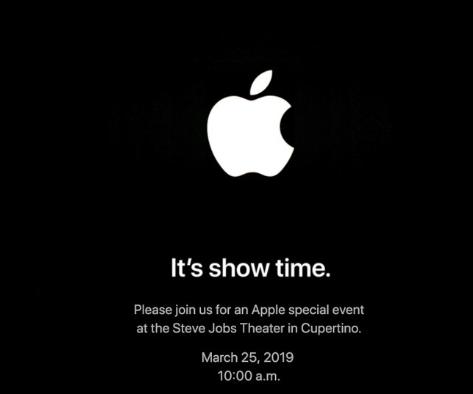 3月25日苹果将举行发布会 推出流媒体电视和新闻服务