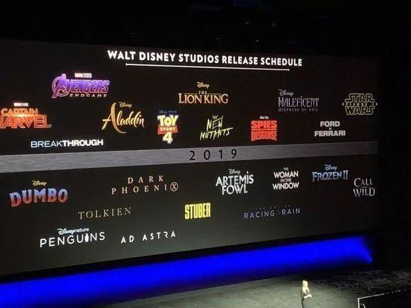 """好莱坞2019:""""迪士尼x福斯""""亮相,传统制片厂稳定产出,流媒体依旧""""动荡""""?"""