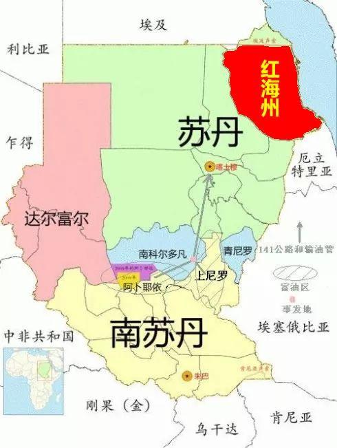第一次内战在苏丹独立前爆发,南北之间打打停停17年,直到1972年才达成停战协定,战争造成50万人死亡。