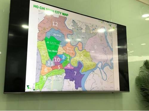 胡志明市地图
