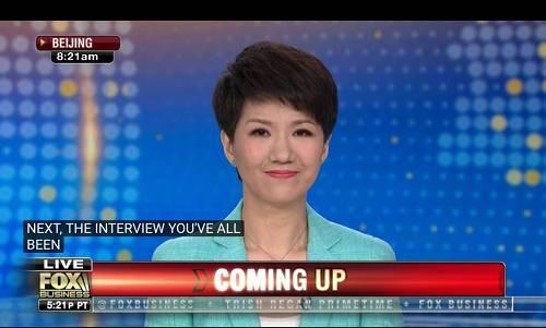 北京时间8点26分26秒,中美主播对话正式开始。