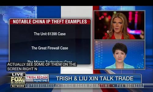 翠西:这个不仅仅是一个观点。这是基于多方面的报道,包括世贸组织的证据。我不否认这些我们已知的事实。我们都同意必须基于信任的基础上和别人做生意。并且你不想让别人偷窃你花费了数十年的有价值的信息。无论如何,中国在2017年要求科技公司为军队和政府工作。所以这不是单单一个公司。这可能是获得这项技术的一个机会。这是一个细微的差别。但我理解美国市场不欢迎中国进入导致中国感到沮丧。