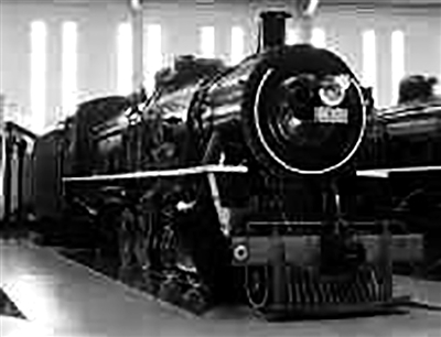 蒸汽机车中的大力士 解放2型蒸汽机车图片