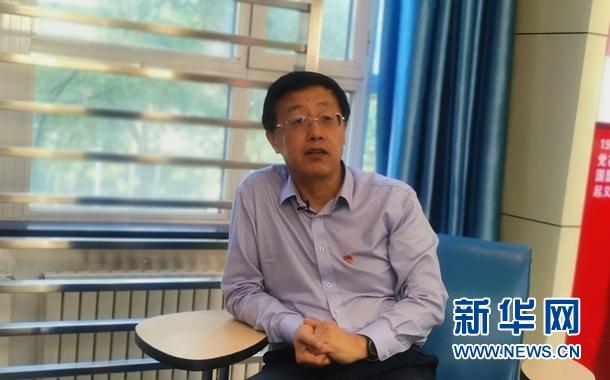 金风科技董事长兼党委书记武钢介绍公司近年来党建工作情况。杨晓波