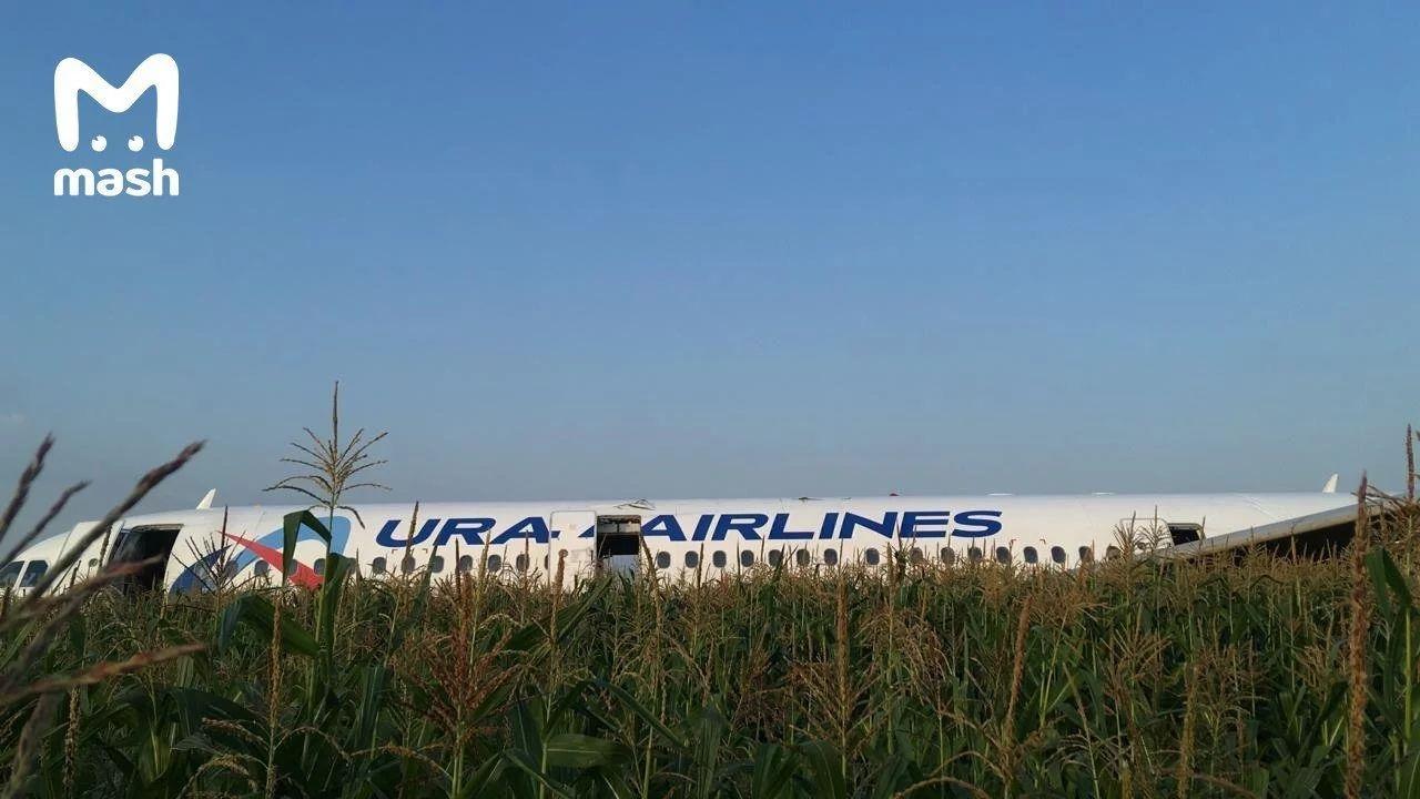视频|乌拉尔航空客机双发失效成功迫降10多人受伤
