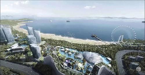 厦门湾·香山半岛效果图-海洋王国