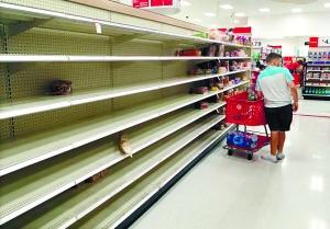 """五级飓风逼近 美国紧张""""备战"""""""