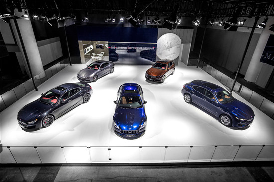 玛莎拉蒂三款全球限量版车型于成都车展中国首发