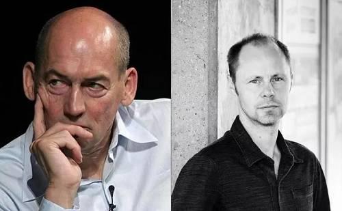 左为Rem Koolhaas, 右为OMA合伙人 Chris van Duijn