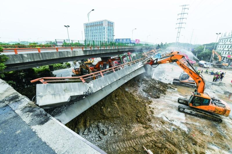 大货车上不了济南的高架桥 老桥每年至少荷载测试一次