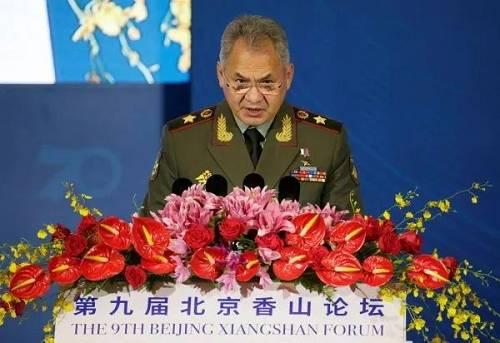 """今天,俄罗斯防长在北京向美国"""""""