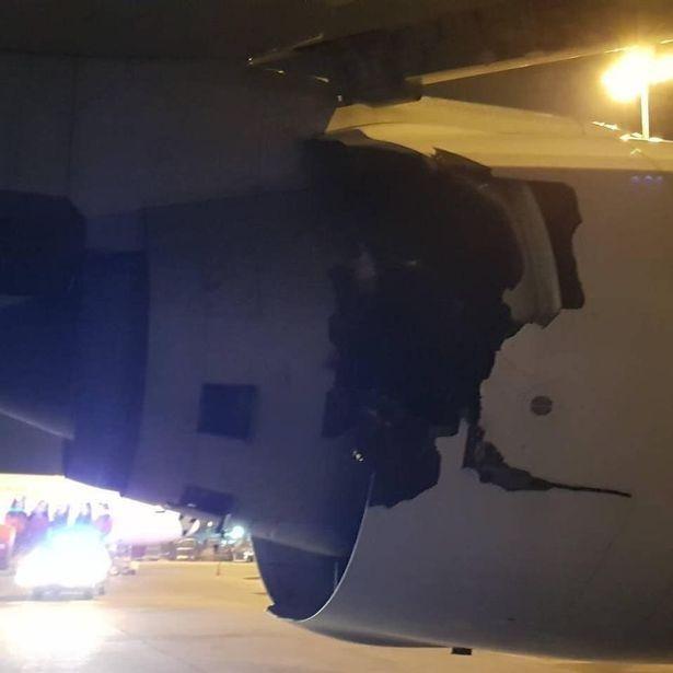 吓坏乘客!泰航777客机起飞前传巨大爆炸声