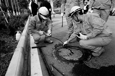 西安举行天然气泄漏抢险演练