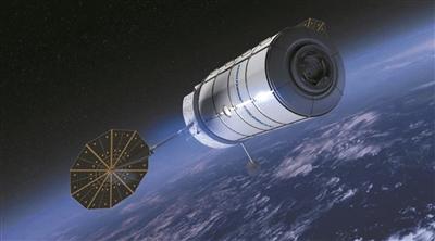 """""""天鹅座""""飞船 给国际空间站送去烤箱"""