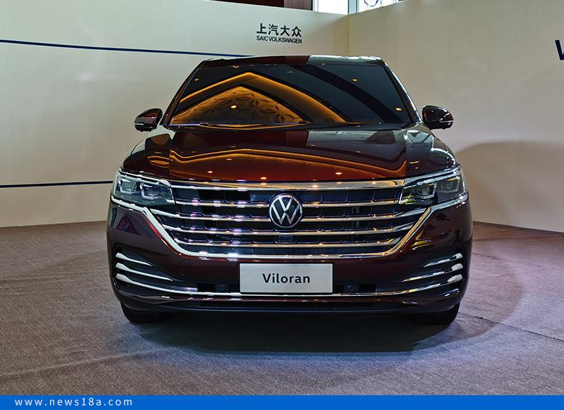 目标高端MPV市场 上汽大众Viloran正式亮相