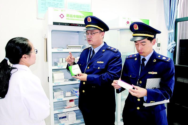"""龙游""""三严查""""把好疫苗质量安全关"""