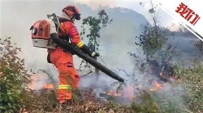 佛山森林火灾已被控制 市民熬红糖水慰问消防员