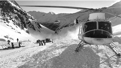 24小时内两场雪崩 4人在意大利滑雪丧生