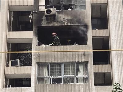 疑用取暖器 引发火灾