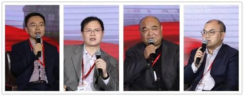 从左至右:蔡磊、沈强、陈军、银国宏