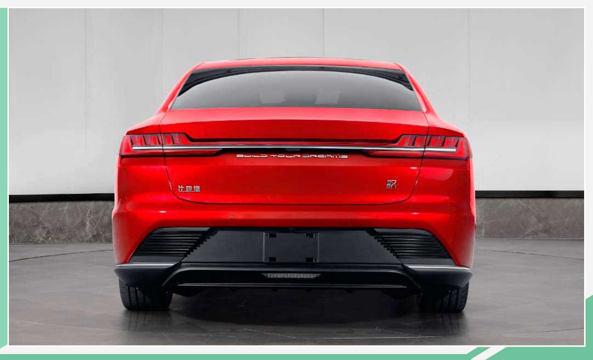 比亚迪汉EV实车曝光 采用全新设计/预计6月上市