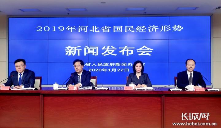 河北:2019年生产总值35104.5亿元,增长6.8%