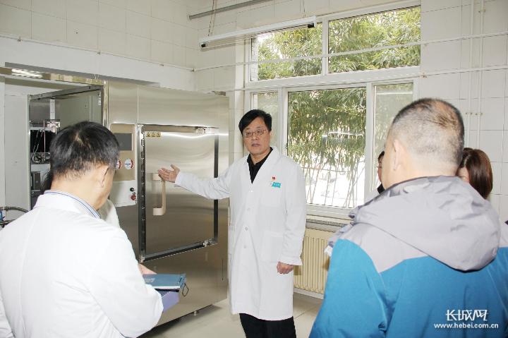 沧州市传染病医院进行春节前安全生产大检查