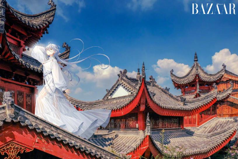 虚拟偶像洛天依登杂志封面,假人比真人更时尚?