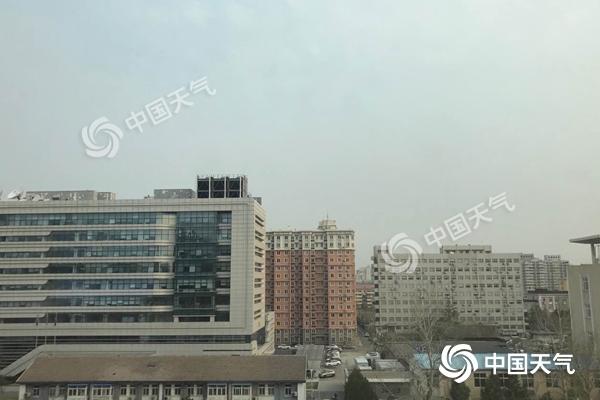 """北京今日降温5℃ 明起冷空气携风雨来袭周四气温""""腰斩"""""""