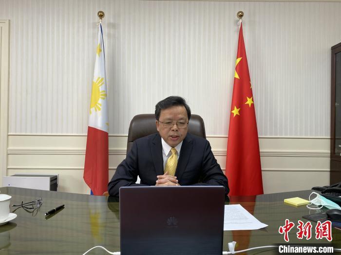 黄溪连大使:中国多渠道全力支援菲律宾抗击疫情