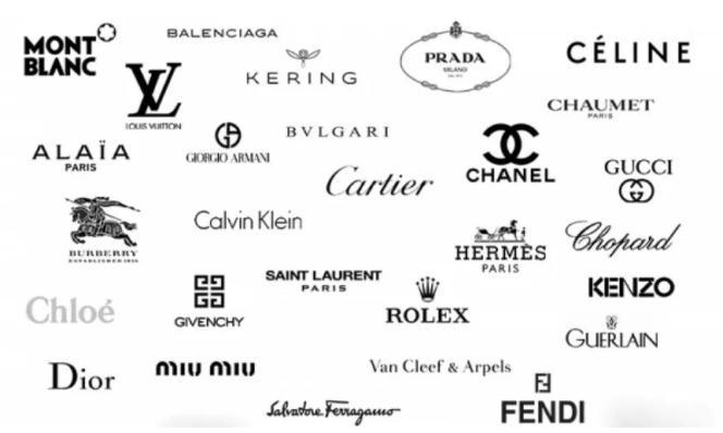 国际奢侈品大牌logo,你能认出几个?