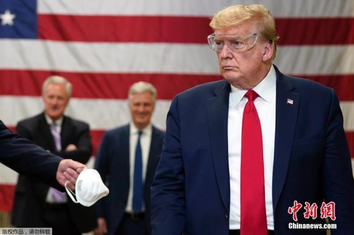 与特朗普声明不符 白宫密报称美中部新冠感染率急升