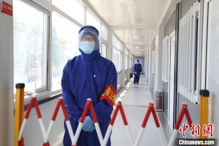 北京轨道交通施工现场举办疫情防控应急演练