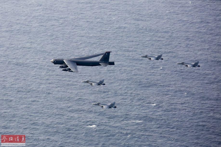 """美军舰在海湾地区挂出""""免近牌"""" 威胁伊朗意味明显"""
