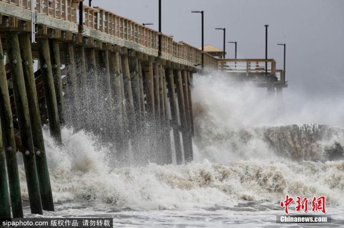 疫情下迎飓风季 美当局称集体避难恐增加病毒传播风险