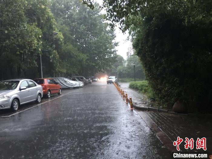安徽发布暴雨黄色预警 265个乡镇降雨量超50毫米