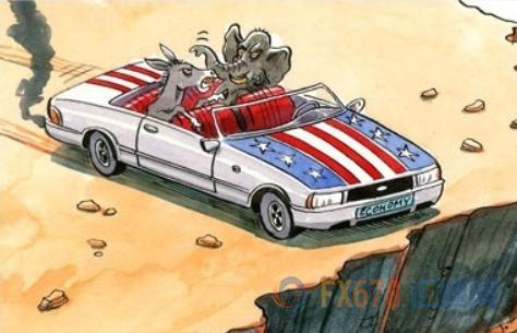 """美国跌入""""财政悬崖""""进入一个月倒计时!延长救济还是果断终止,四大因素令美国陷入两难"""