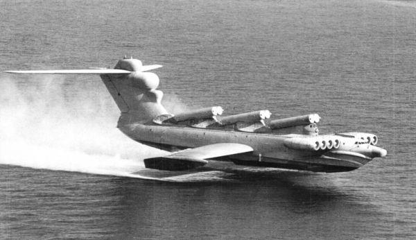 """俄""""里海怪物""""完成最后航行 曾是""""世界最大最重飞行器"""""""