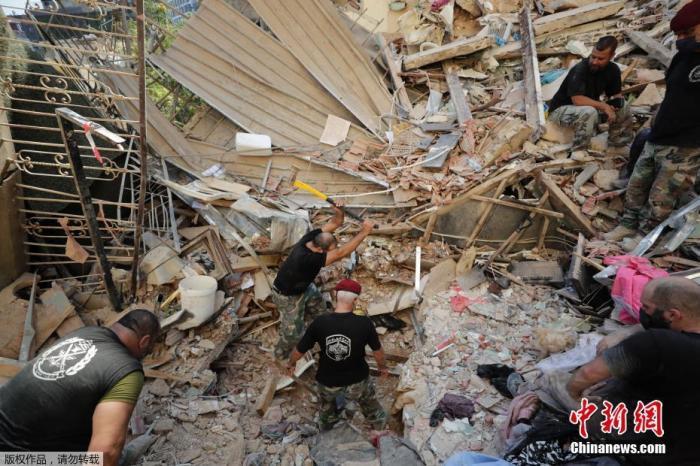 外媒:荷兰驻黎巴嫩大使夫人在贝鲁特港爆炸中身亡