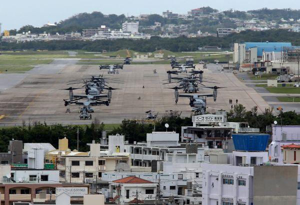 日媒:驻日美军基地将禁飞民间无人机防偷拍